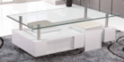 Glazen salontafels