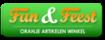 Logo van Oranje-artikelen-winkel