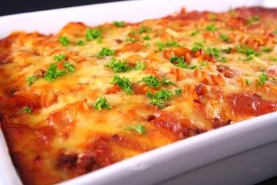 Lasagne zoutarm