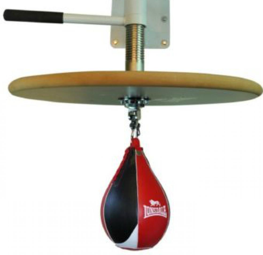 Lonsdale Verstelbare speedbal Platform Zwart en Rood