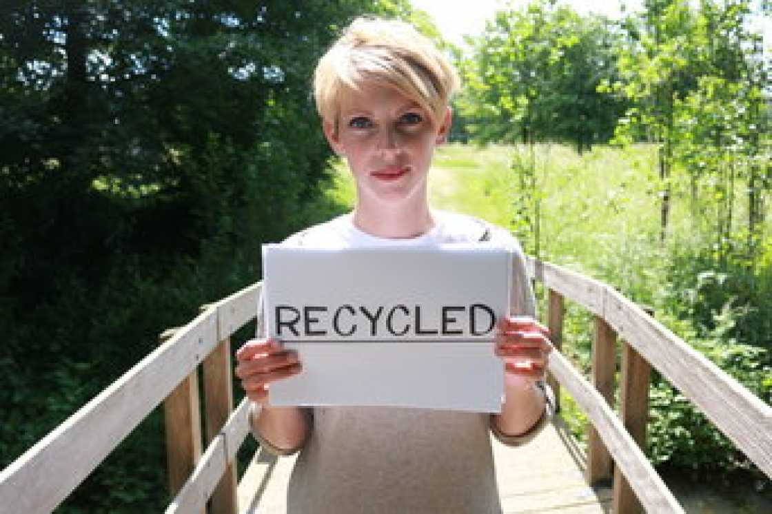 riciclabile, riciclato, recycled