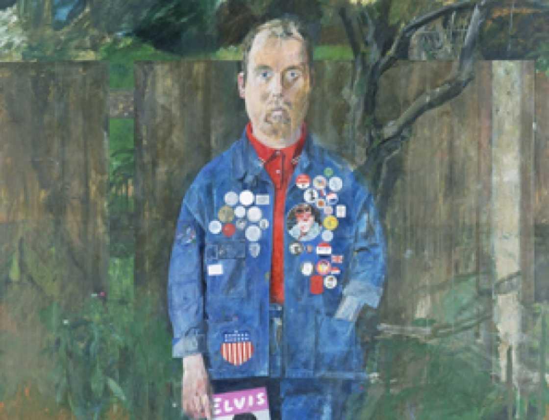 Zelfportret van Peter Blake