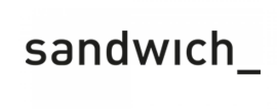 Sandwich dameskleding logo