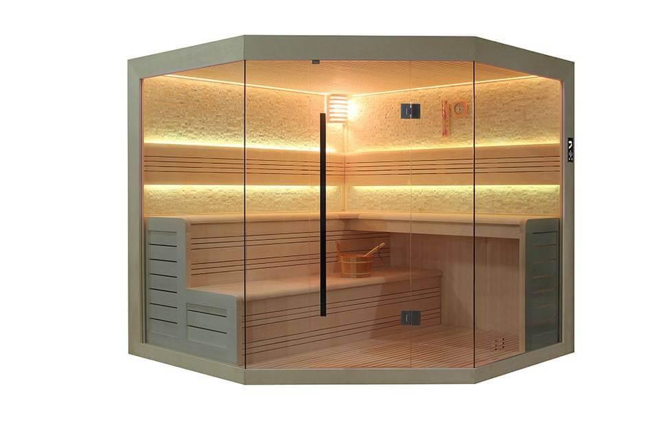 Verschillende sauna types