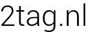 2tag.nl logo